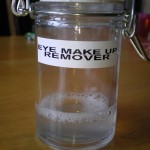 DIY Eye Make Up Remover
