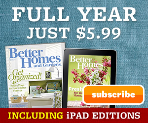 Better homes and gardens magazine for a full year 12 Better homes and gardens daily giveaway