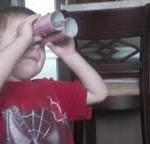 Homemade binoculars!