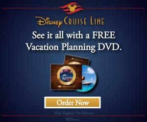 Disney Cruise DVD
