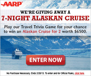aarp travel sweeps