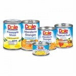 Catalina ~ Save 50¢ on 4 select DOLE® Canned fruits