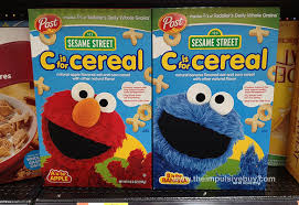 c is for cereal sesame street