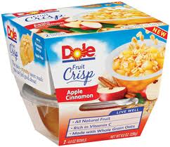 dole fruit crisp