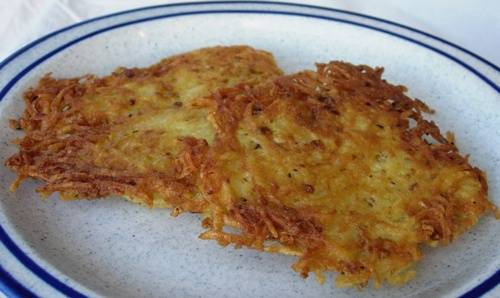 Thanks to germanfood.about.com for the great picture of these potato panckaes.