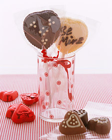 v day personalized chocolate