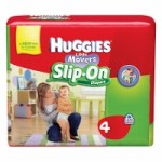 Get it now – $1.50 off ONE HUGGIES® Little Movers Slip-On™ Diapers