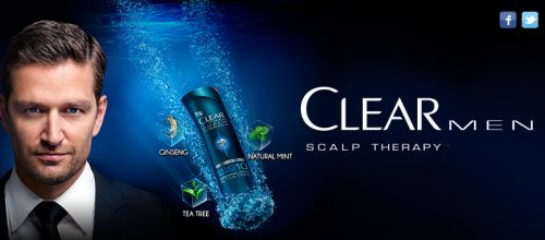 Clear for men