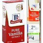 McCormick Baking Coupon—Vanilla $1.25 at Walgreens!
