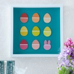 Paint Chip Easter Egg Art