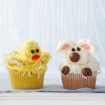 lamb and ducky cupcakes