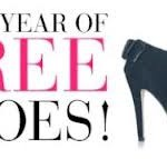 Enter To Win a Year Worth Of FREE Shoes!!