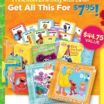 Elmo's Learning Adventure Gift Pack $7.95 + FREE Backpack! (value $44.75)