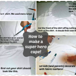 DIY Super Hero Cape!