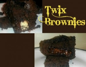 twix brownies 3