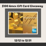 $100 Amex Gift Card Giveaway!