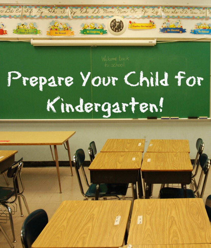 Prepare Your Child for Kindergarten